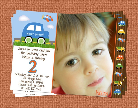 Transportation Cars Trucks Planes Birthday by onlysunshinedesigns, $12.00