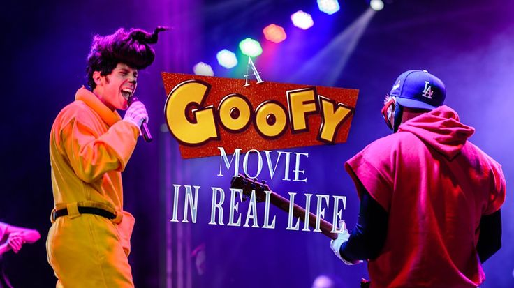 YouTube personality Stuart Edge, along with Peter Hollens, created a real life version of A Goofy Movie featuring Max and Powerline.