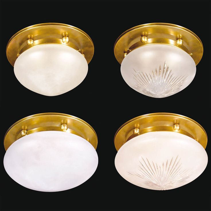 Schlichte Jugendstil Deckenleuchten PARIS 31 35 40 Cm Von Art Nouveau Lamps