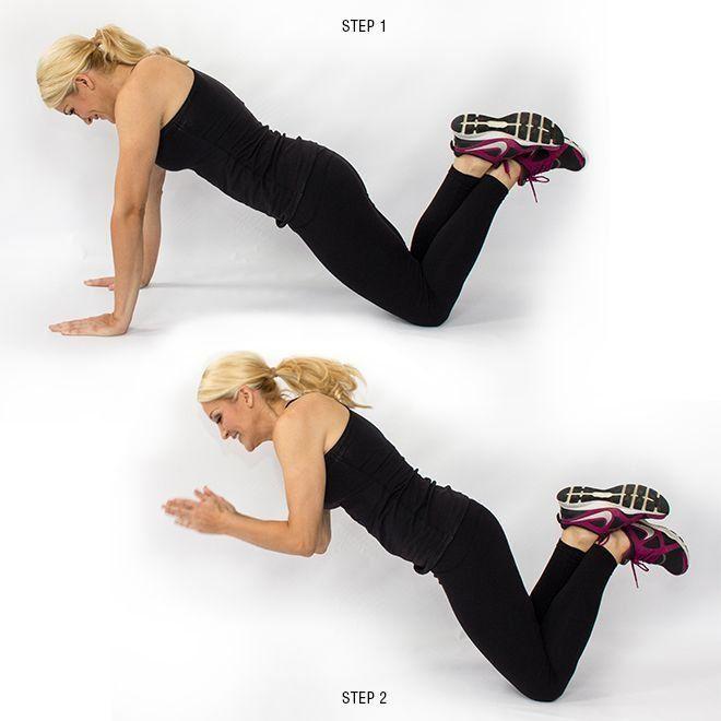 Fat Blasting, 10-Minute Plyometric Workout