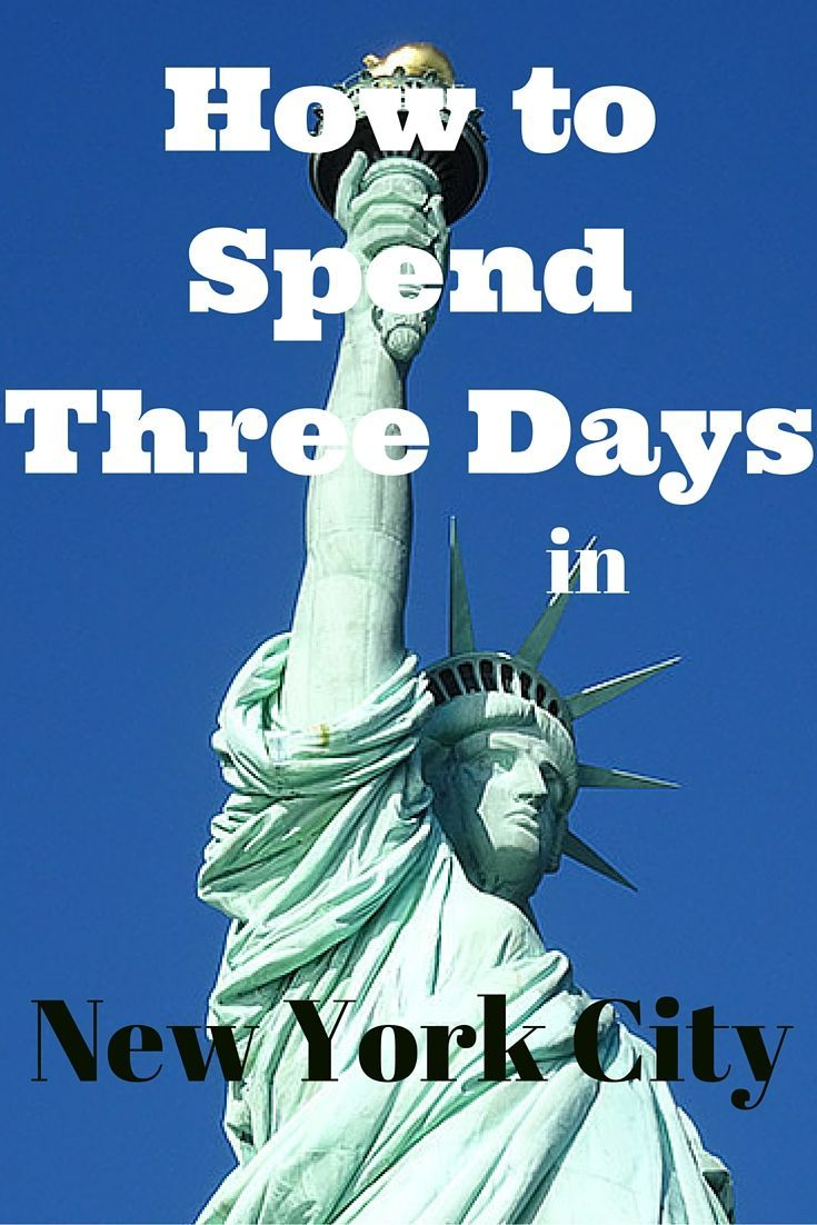 How to Spend Three Days in New York City #NewYork  #NYC #travel |  http://www.contentedtraveller.com/how-to-spend-three-days-in-new-york-city/