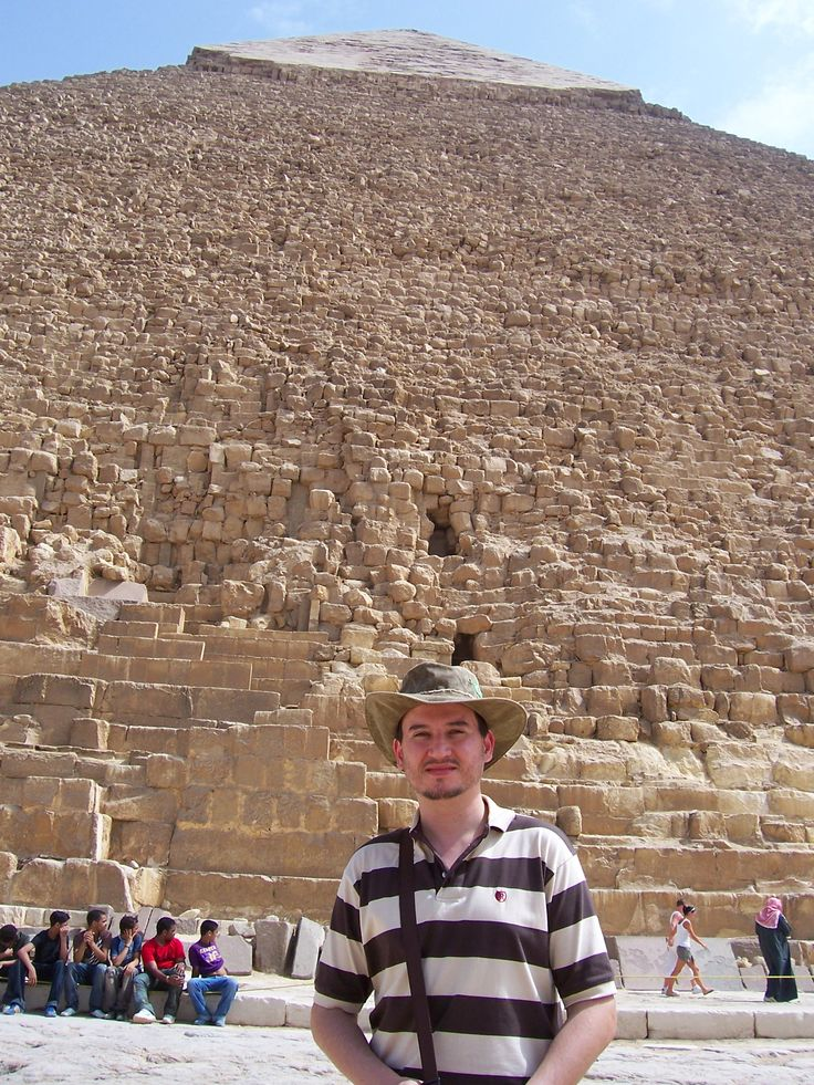 Entrar nas Grandes Pirâmides do Egito