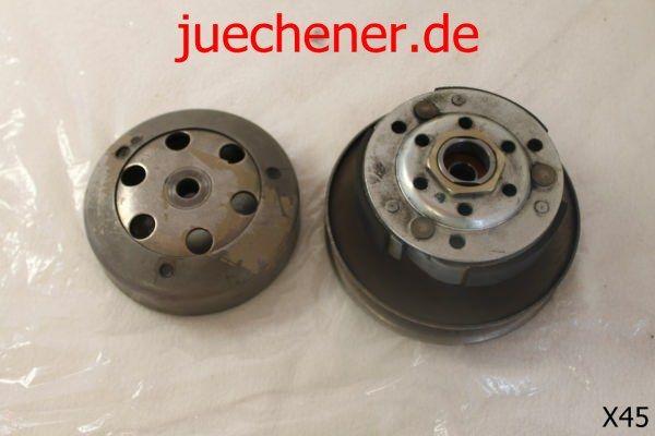 Piaggio Vespa 50 Riemenscheibe hinten Kupplung wandler sekundär CM100107  Check more at https://juechener.de/shop/ersatzteile-gebraucht/piaggio-vespa-50-riemenscheibe-hinten-kupplung-wandler-sekundaer-cm100107/