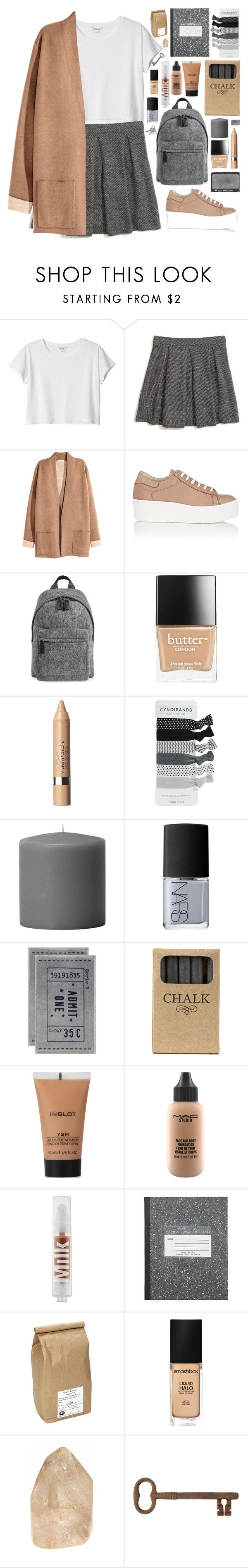 """Без названия #111"" by sinyukovayulya ❤ liked on Polyvore featuring Monki, Madewell, Barneys New York, Marc Jacobs, Butter London, Anrealage, NARS Cosmetics, H&M, Jayson Home and Inglot"