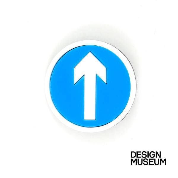 There's only one way, and that's straight ahead! In collaboration with the Design Museum, Lou haschosen herfavourite Highway Code signs to coincide with their