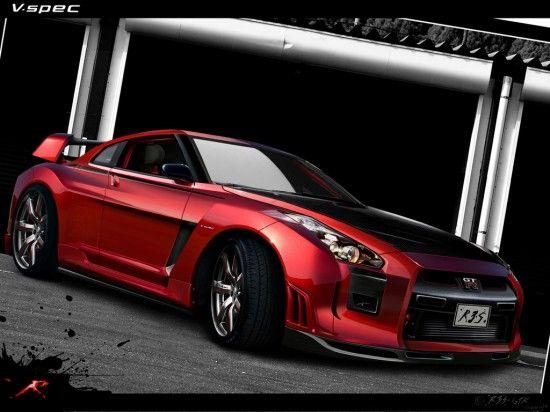 Nissan GT-R 8