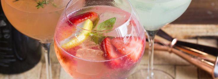 3 zomerse variaties op de bekende Gin-Tonic