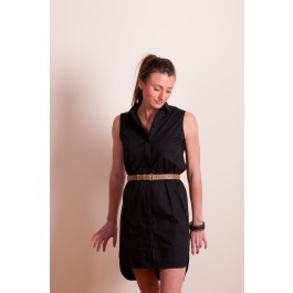 Secret South Sarah Black Shirt Dress