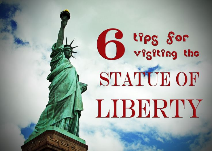 5 Tips for visiting the Statue of Liberty with kids from TipsforFamilyTrips.com
