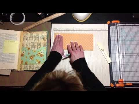 Altered Book Tutorial - Video 1. About an hour long but packed with info about how to take an old book apart and reassemble it with just the pages you want in such a way that you can add envelopes, smaller booklets and different types of folders or pockets to it.