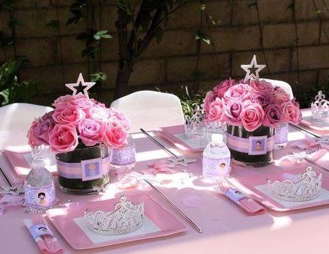 Ideas para una autentica fiesta de princesas princesa en - Fiestas de cumpleanos de princesas ...