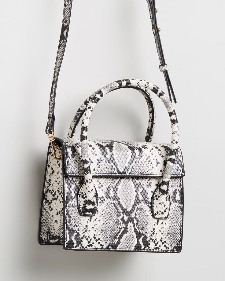 Pin By Isobel On Isobel May Ledden In 2019: Buy Faux Snakeskin Bag By M.N.G Online At THE ICONIC. Free
