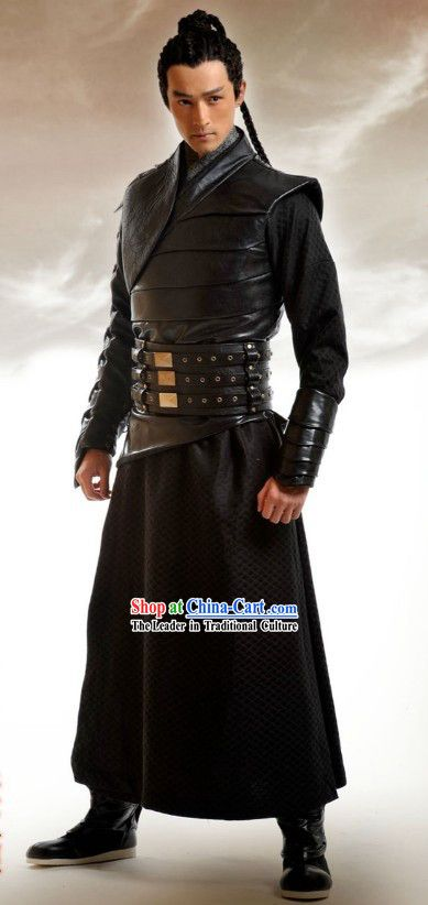 Ancient Chinese Swordsman Costume Complete Set