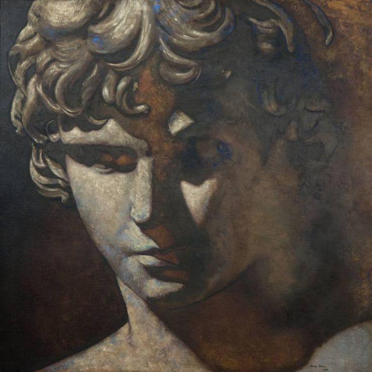 "Saatchi Art Artist Juan Manuel Álvarez Cebrián; Painting, ""Rostro_nº-3"" #art"