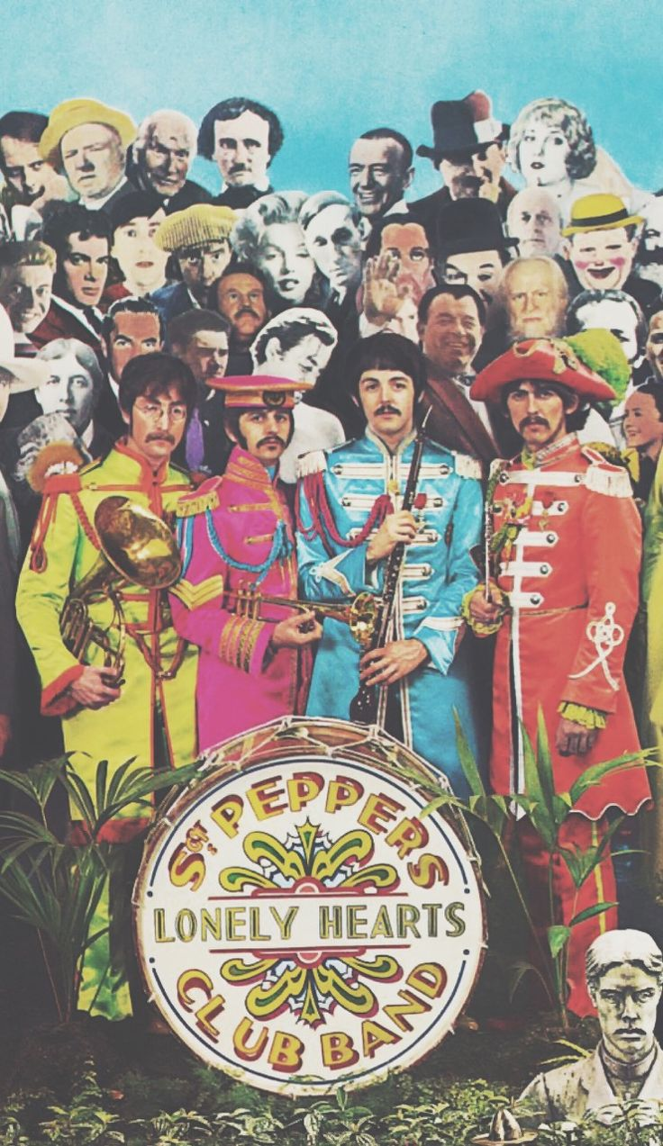 the beatles st peppers lonely hearts club band