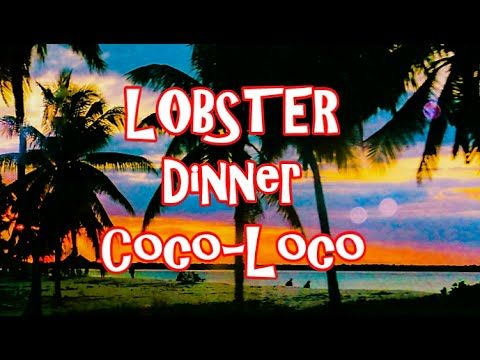 "BIGGEST LOBSTER Dinner trip Cuba Sta Lucia Camaguey - ""Places Series"""