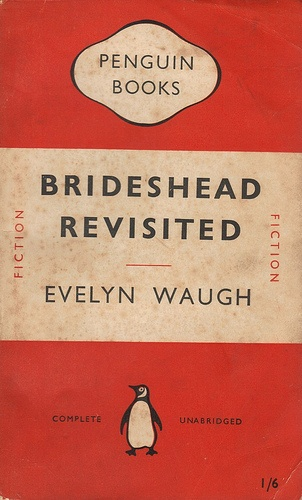 Brideshead Revisited Penquin cover. This is one of my all time favourite books which I utterly adore.
