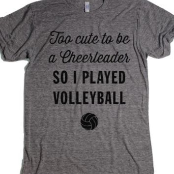 Shop Cute Volleyball Shirts on Wanelo