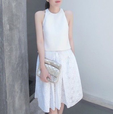 Poppy Laser Cut Lace Midi Skirt $65.00 http://www.helloparry.com/collections/july-arrivals/products/poppy-laser-cut-lace-midi-skirt