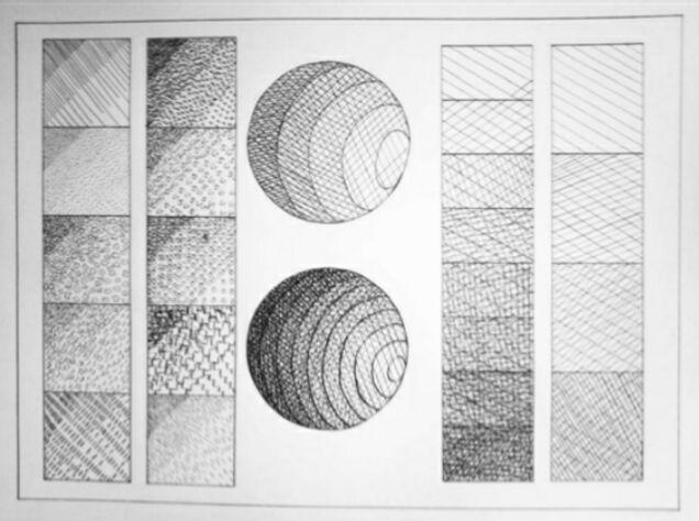 Tecnica Del Achurado Arte Amino Amino Achurado Dibujo Achurado Dibujos Naturales