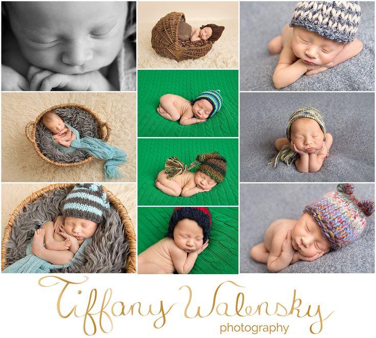 Gabriels newborn session tampa newborn photographer tiffany walensky photography creative fun colorful modern
