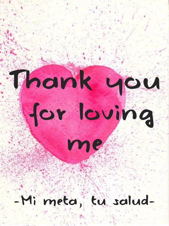 Gracias por quererme