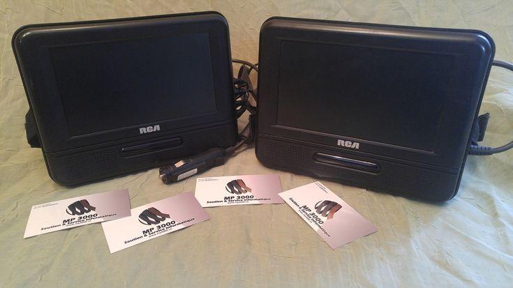Système de DVD mobile double écran 7 pouces RCA DRC69705  75$ https://mp3000.ca/produit/systeme-de-dvd-mobile-double-ecran-7-pouces/ Usagé  Garantie 60 jours  MP3000 Soutien et Service Informatique  514-433-8469 #mp3000