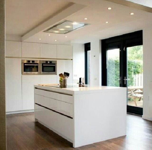 Keuken Afzuigkap In Plafond : Kitchen Center Island Ideas
