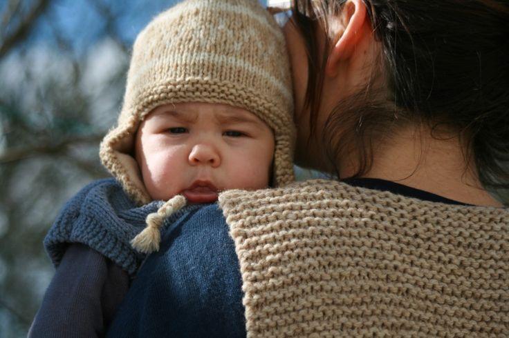 patron tricoter bonnet peruvien