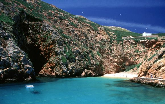 Berlenga island, Peniche, Portugal