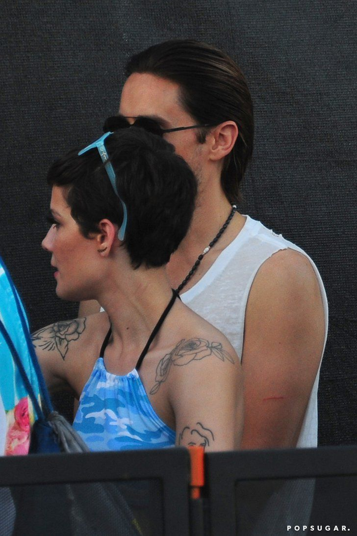 Pin for Later: These Pictures of Jared Leto and Halsey at Coachella Could Mean . . . Something