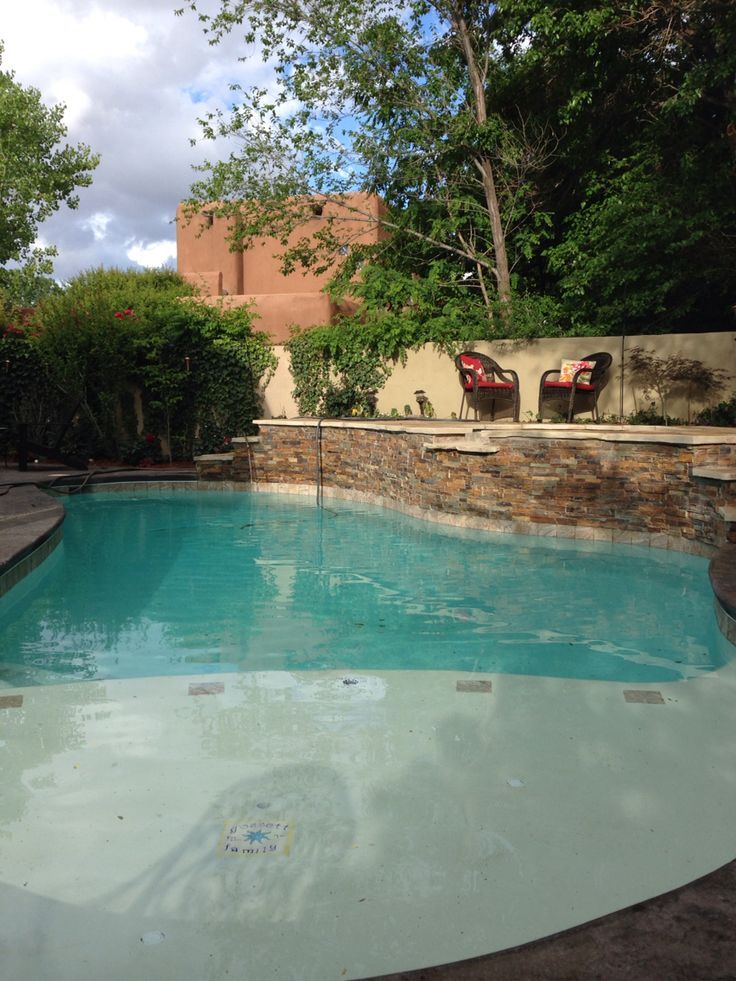 This is how our pool turned out!!!! 5 weeks late sorry.