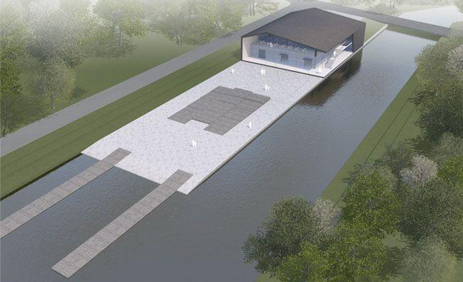 LOOS van VLIET - Rowing building, University Suzhou