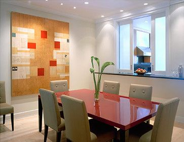 Contemporary Spaces Funky Dining Room Design Pictures Remodel Decor And Ideas Find This Pin More On Kitchen Pass Thru