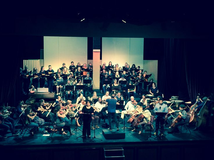 Final rehearsal for the Christmas Concert 2016 set at Brooklyn Theatre  starting on 25, 30 Nov & 2 Dec 19:00 Soloists & Children's Choir www.brooklyntheatre.co.za  012-460-6033  (27 Nov & 4 Dec -Sold Out)