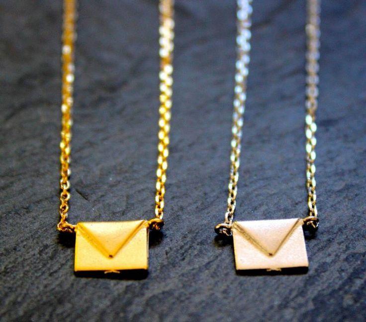 Envelope Necklace