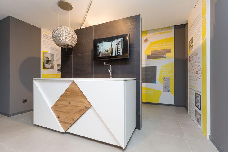 Habitat Lab - Pôle design - cuisine et salle de bain à Convivium Crédit Photos : Olivier Liévin