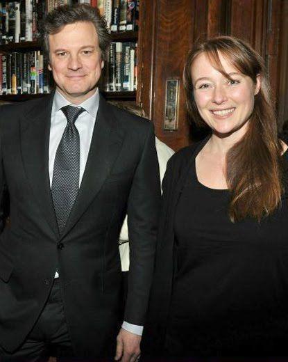 Colin Firth and Jennifer Ehle 15 years after Pride and Prejudice 1995 ( c'est dingue comme le changement de coiffure peut la rendre méconnaissable)