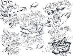 Art Gangster Tattoo Designs   Tattoo Flash by Boog. Татуировки, зарисовки (191 ...