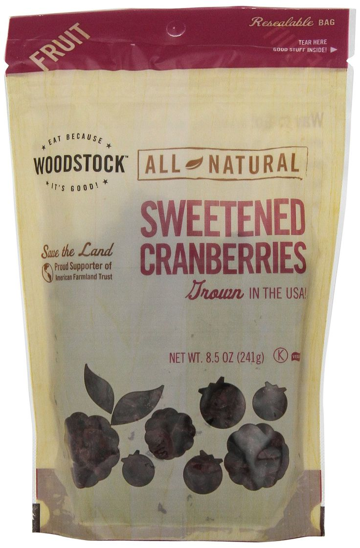Woodstock Farms Sweet Cranberry 8.5 oz