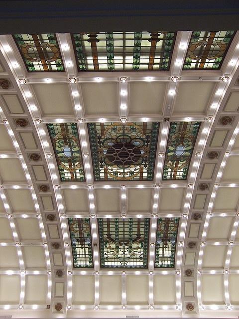 Art Nouveau Ceiling Legislature Building Edmonton Alberta Canada Architecture And Interior