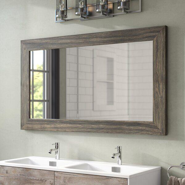 Landover Rustic Distressed Bathroom Vanity Mirror In 2020 Rustic Bathrooms Master Bathroom Decor Distressed Bathroom Vanity