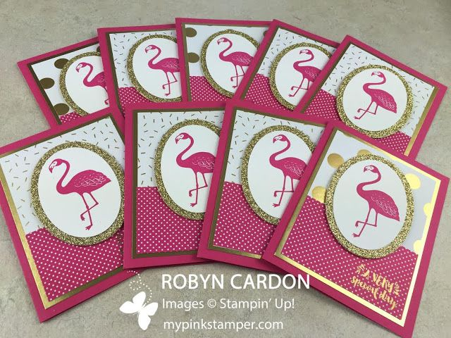 Pop of Paradise NEW 2016-17 Stampin' Up! catalog Stamp Set Preview!