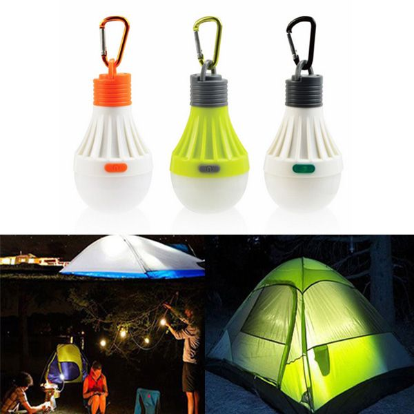 1w Portable Hanging Led Ball Camping Tent Light Bulb Outdoor