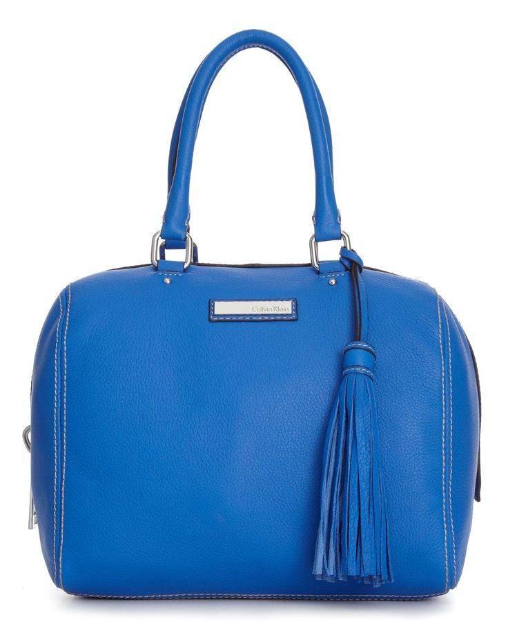 Calvin Klein Handbag, Palermo Leather Satchel - Handbag Trends - Handbags & Accessories - Macys