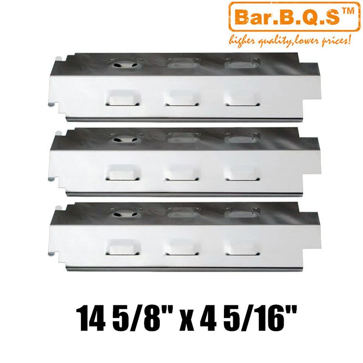 Hisencn 98741 3pcs/pk Gas Barbecue Grill Heat Tent Stainless Steel Heat Plate Shield For  sc 1 st  Pinterest & ???? ??? 25 ????????? ????? ??? Charbroil bbq ??? Pinterest ...