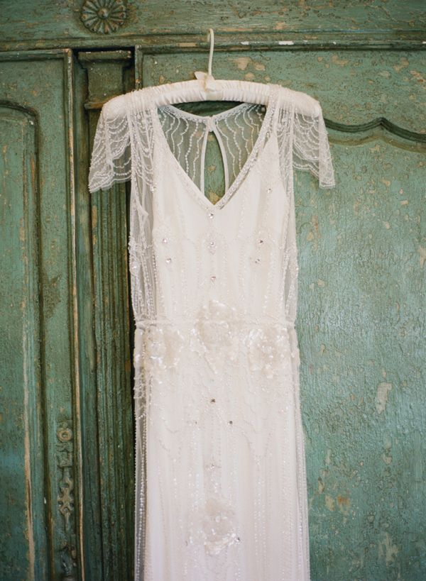 Jenny Packham Wedding Dress via Chic Vintage Wedding