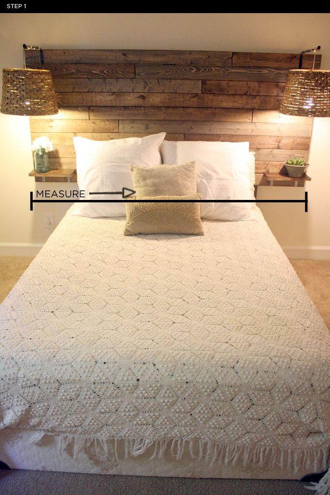 25 best ideas about rustic headboards on pinterest diy - Cabecero de tablas ...