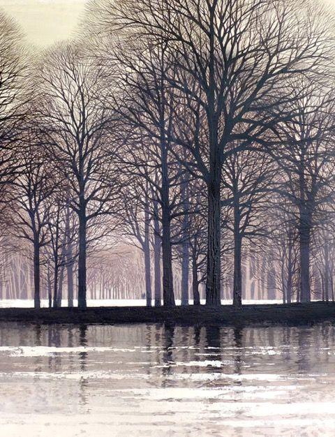 Reflections by Kathleen caddick.  Acryllic.  £4k