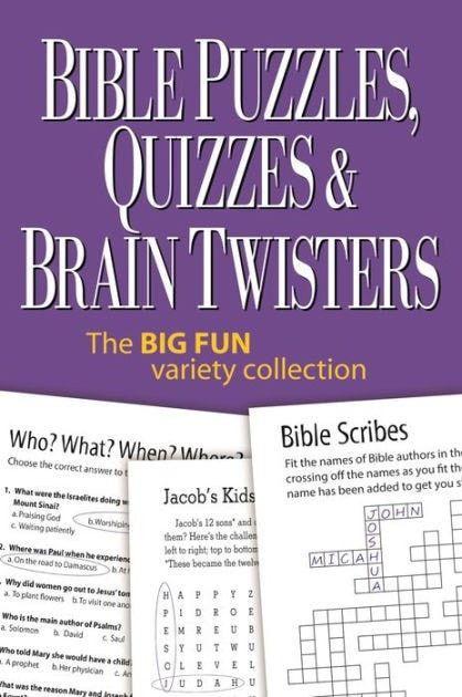 Bible Puzzles Quizzes && Brain Twisters